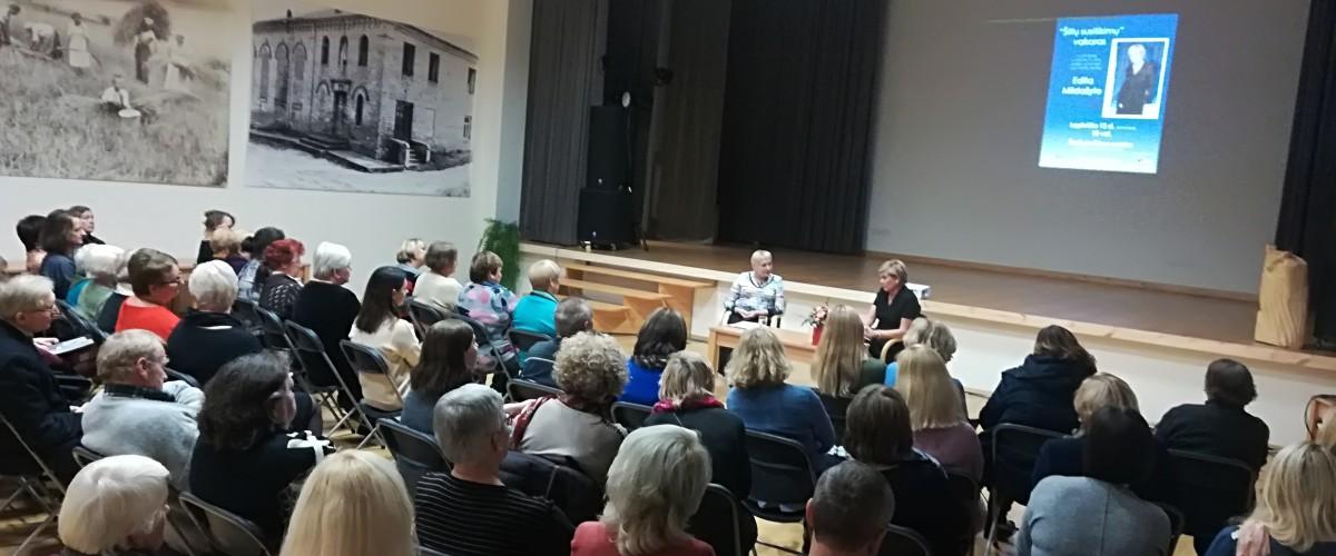 """,,Šiltuose susitikimuose"""" - Edita Mildažytė"""
