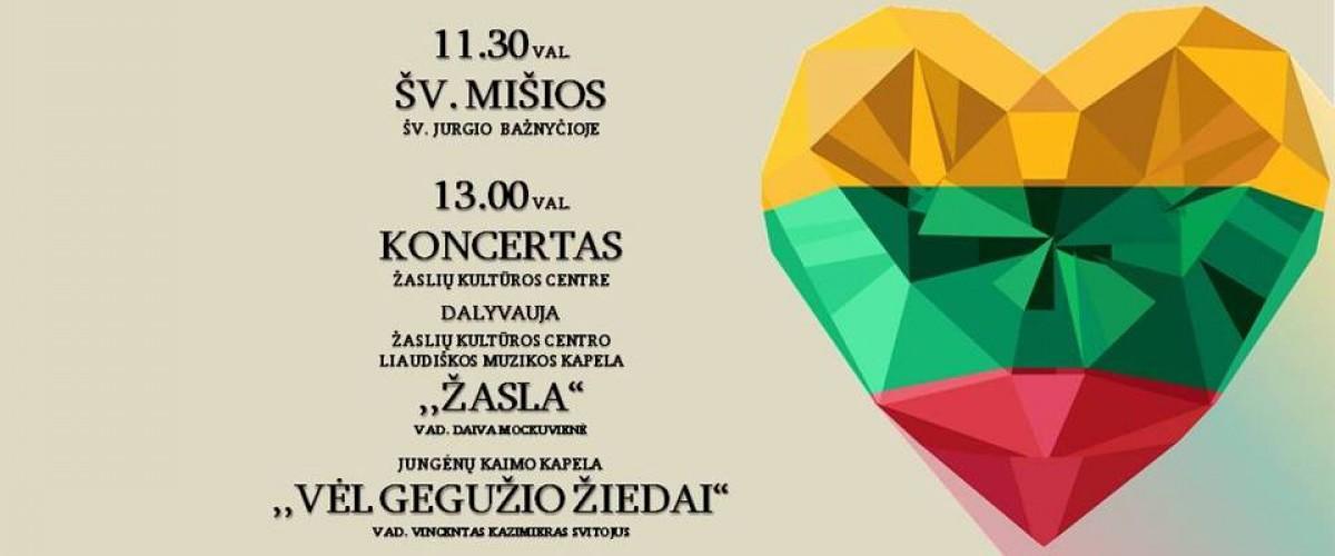 Vasario 16-osios, Lietuvos valstybės atkūrimo dienos, šventė