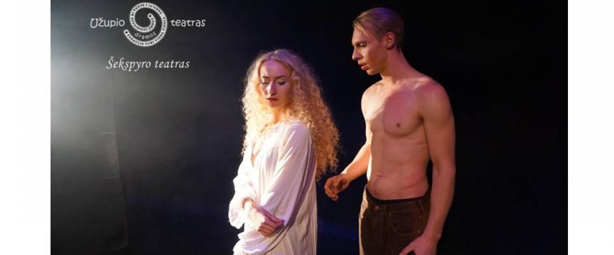 """Vilniaus Užupio dramos teatro spektaklis """"Scenos  gražuolė"""""""