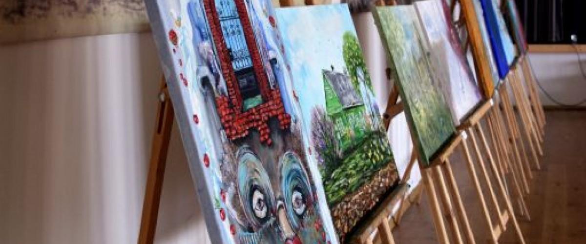 """Projekto """"Kaišiadorių kraštas dailininko akimis. Žasliai"""" tapybos plenero paroda"""