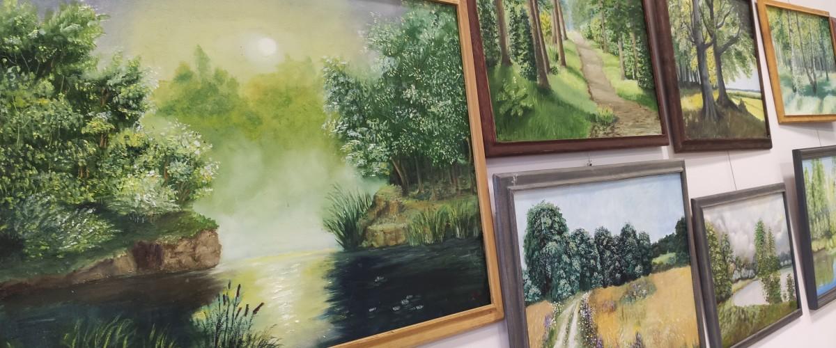 Aldonos Tuminienės tapybos darbų paroda