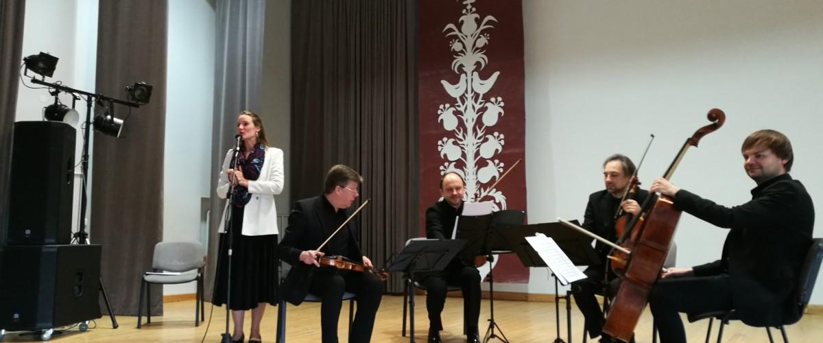 Žasliuose - Čiurlionio kvartetas