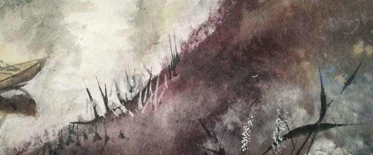 """Rasos Juzukonytės tapybos darbų paroda """"Vasaros įspūdžiai"""""""