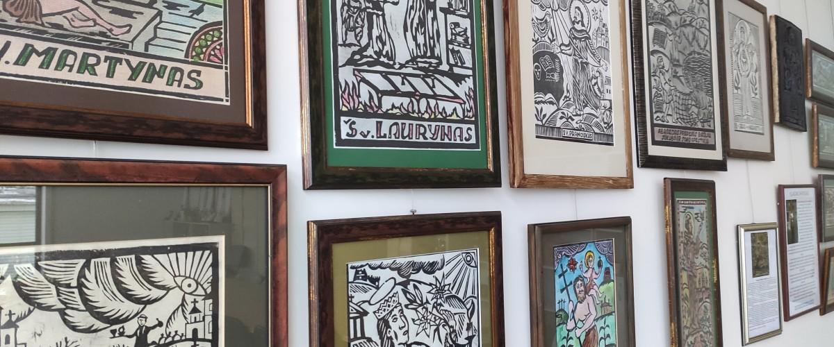 Klaido Navicko ir Oleksandro Bryndikovo medžio raižinių paroda