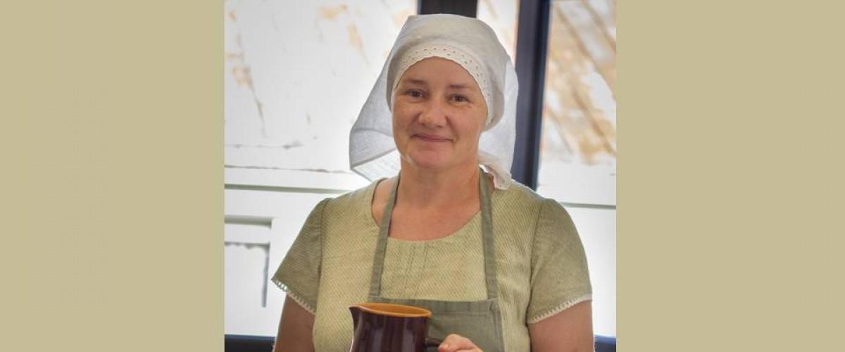 Žaslietė Dalia Ramonienė- sėkmingiausia tradicinė amatininkė, kulinarinio paveldo puoselėtoja Lietuvoje 2020