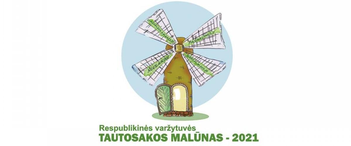 """Respublikinės varžytuvės  """"Tautosakos malūnas - 2021"""""""